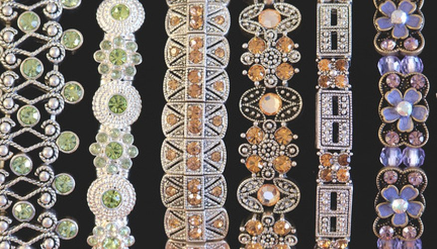 Wholesale jewelry is resold to the general public at marked-up prices.