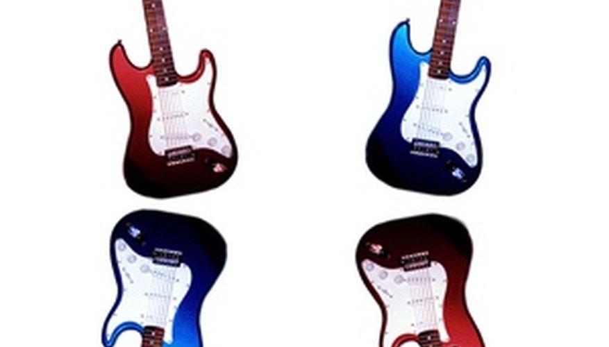 La Fender Stratocaster tiene un diseño clásico.