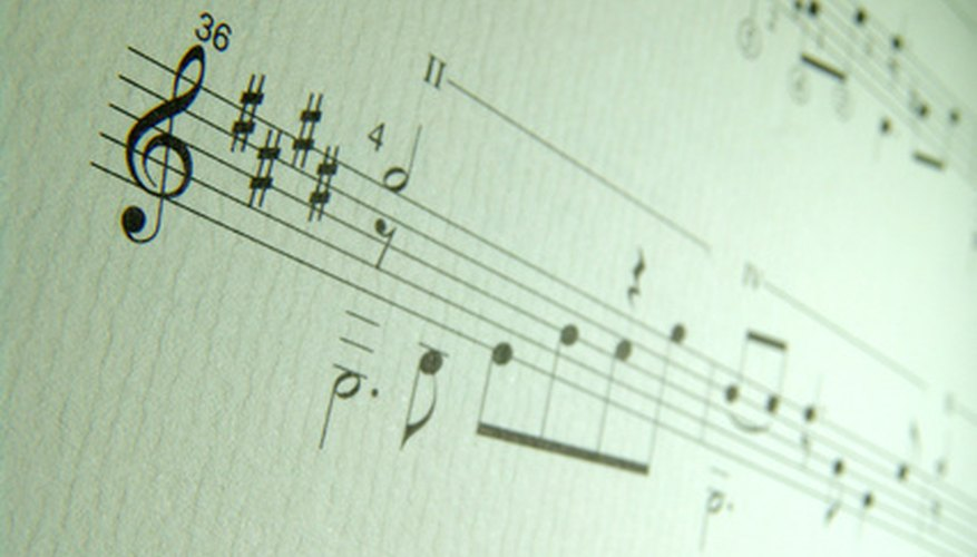 Key signatures can set the mood of a piece of music.