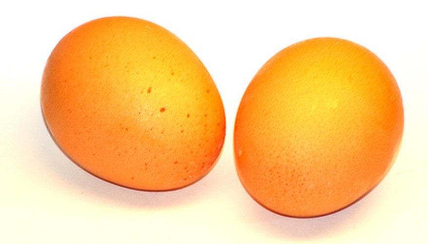 Pon un sólo huevo.