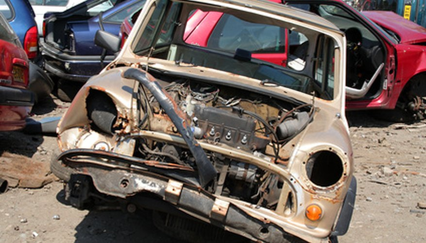 A salvage yard must be permitted on your property.