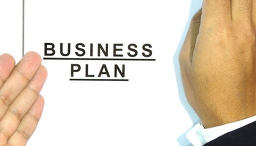 A successful business begins with an effective business plan.