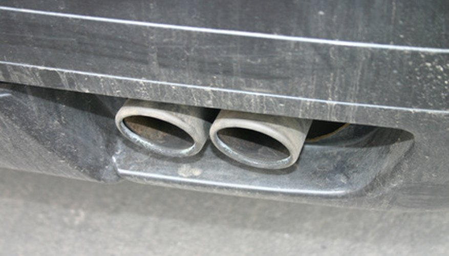 double exhaust pipe