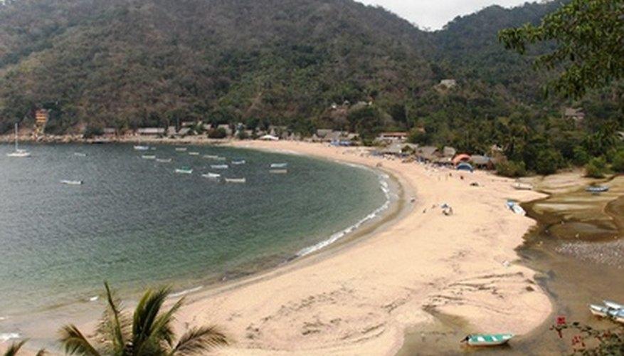 Las playas de México son mundialmente famosas.