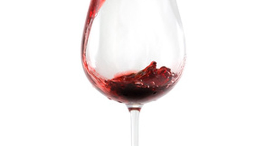 La acidez del vino puede ser determinada por una reacción ácido-base.