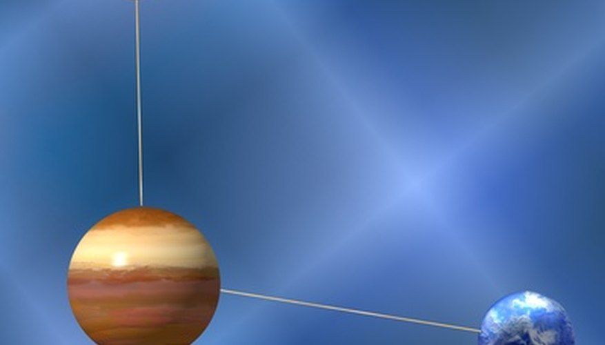 Use stiff metal wire to connect the foam planets to the sun.