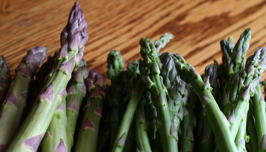 Asparagus is a popular vegetable.