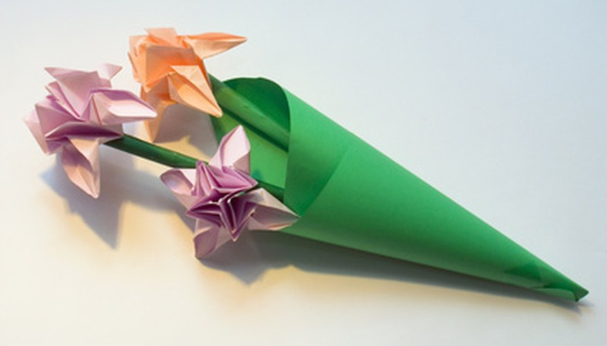 Creating origami with money can be an entertaining project.