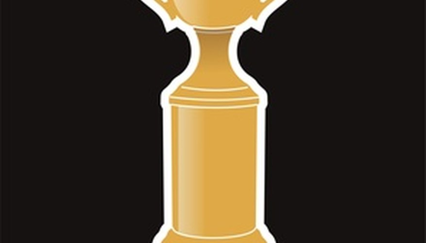 Trophies can be marketed to sports teams and bowling leagues