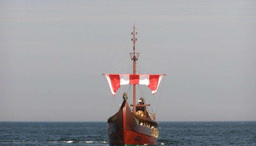 Barco de los vikingos.