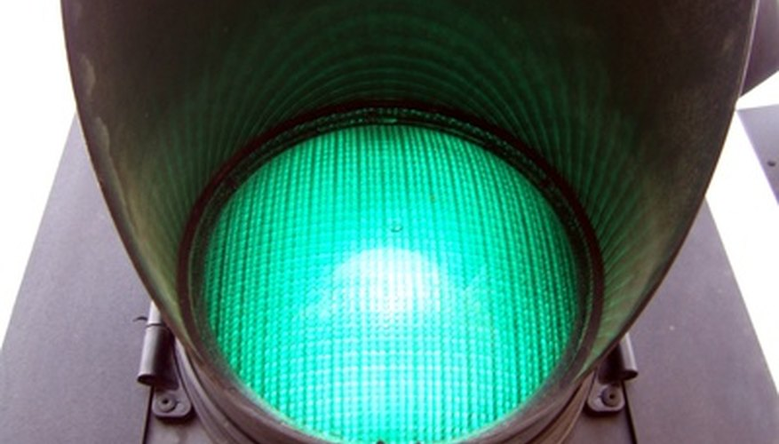 Green light doesn't mean