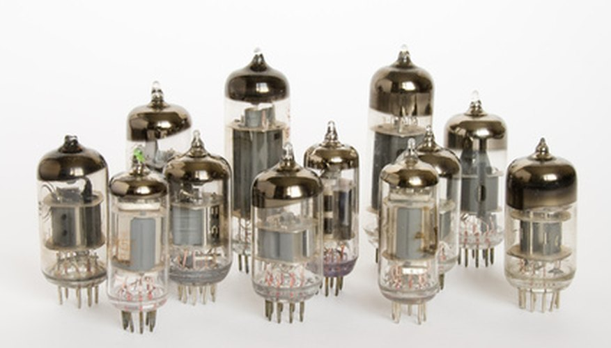 Appearance and sound are key to identifying a blown preamp tube.