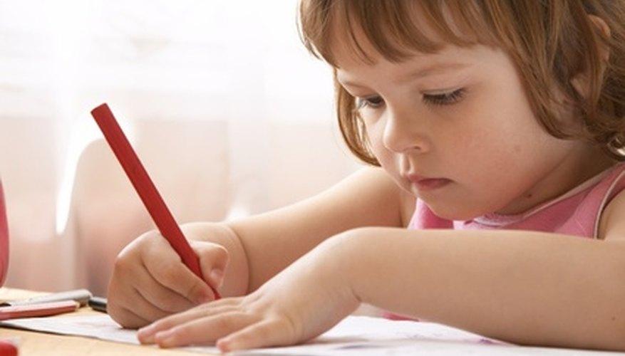 Los preescolares aprender mejor al involucrarse.