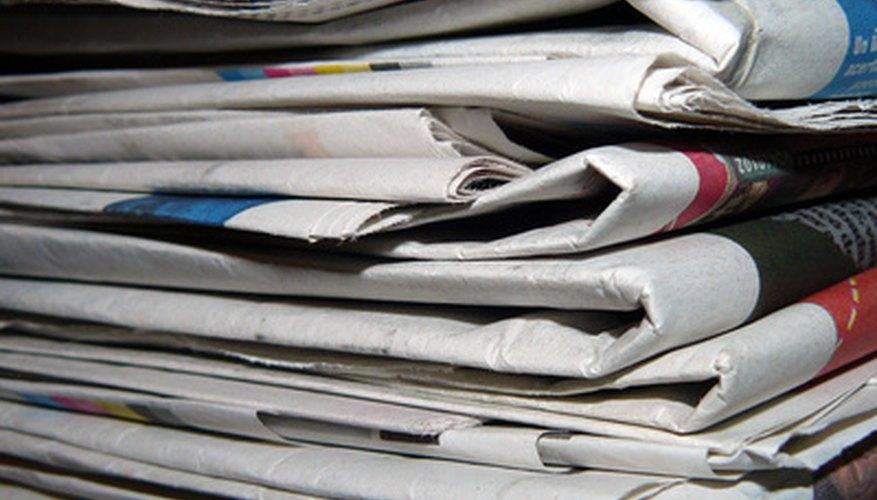 Cómo escribir un artículo para un periódico.