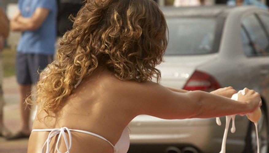 Haz tu propio jabón para lavar tu auto.