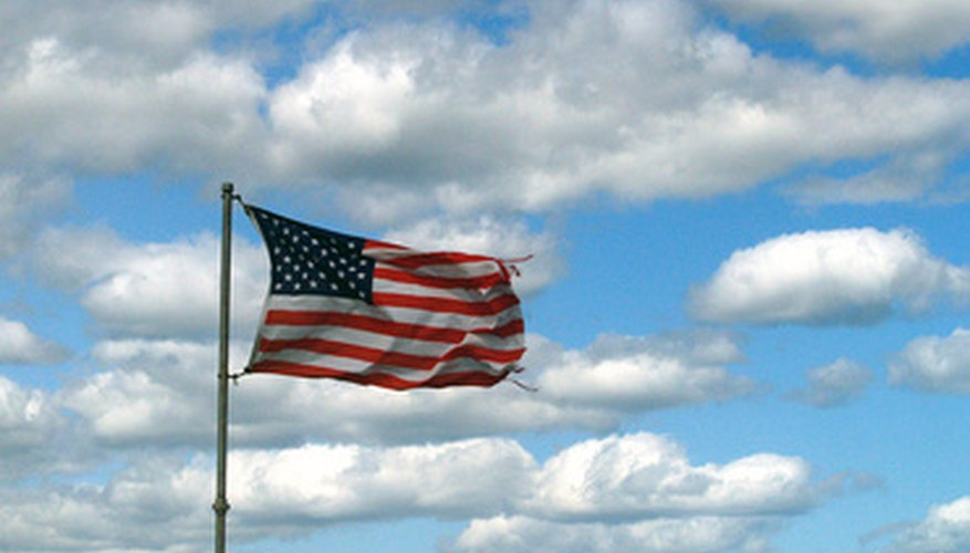 Even a simple flag can show you the direction of the wind.