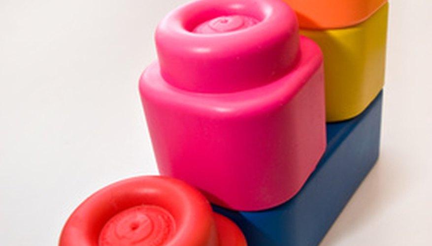 Los Mega Bloks son similares a Lego en cuanto a diseño, pero de un mayor tamaño.