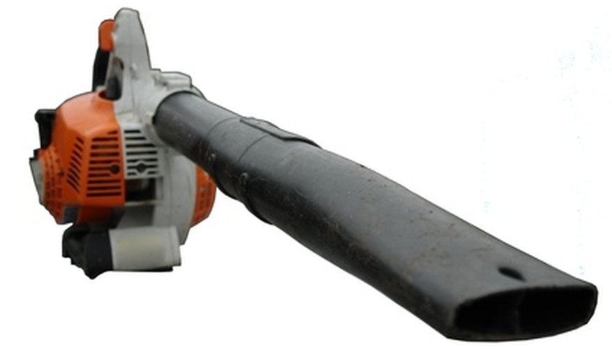 A typical gas blower.