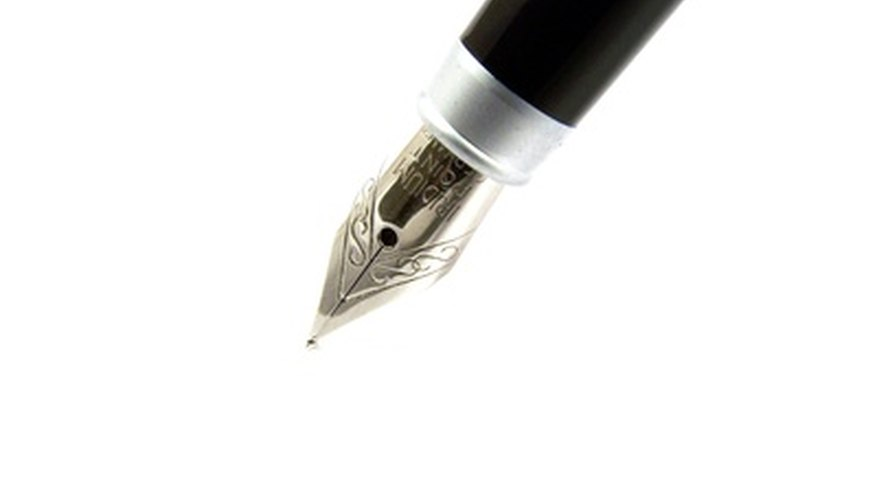 Waterman pens have been around for more than 100 years.