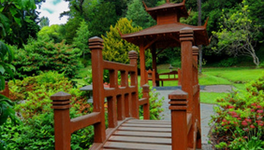 Japanese gardens are cared for with specialized Japanese weeding tools.