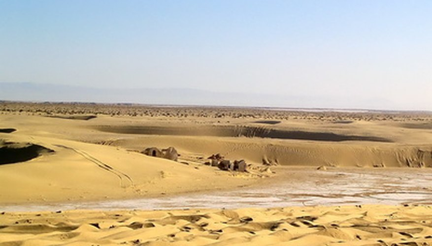 Deserts exist around the world.