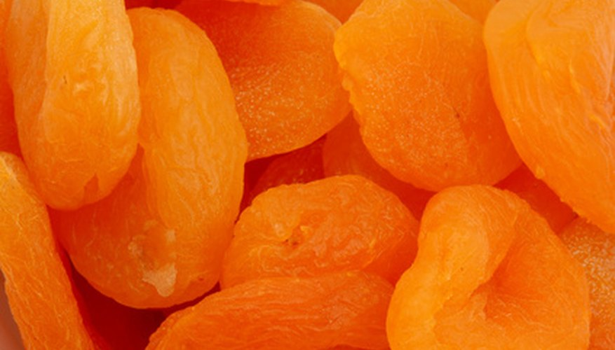 Dried apricots are popular with hikers.