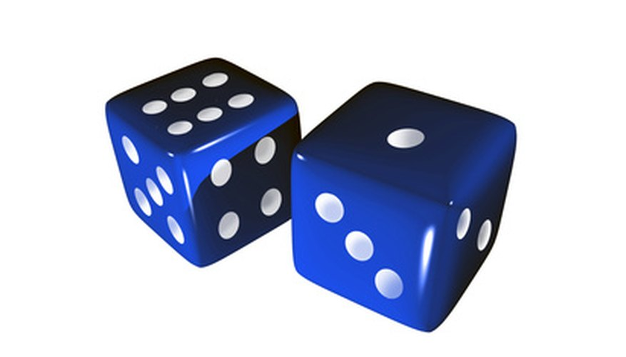 Dice rolling is a way to demonstrate probability.
