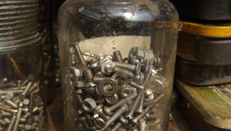 If you don't have a skillet, use something like a jar filled with nails or coins.
