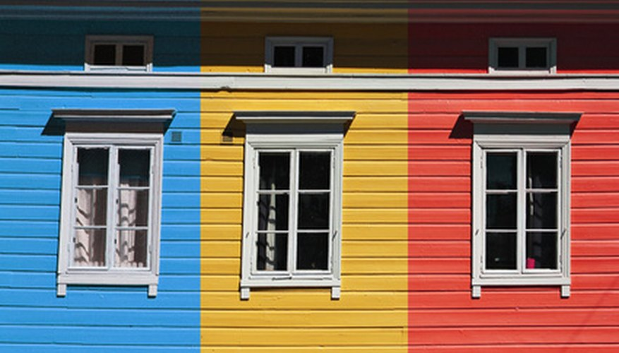Blue, yellow, and red represent the powerhouse colors.