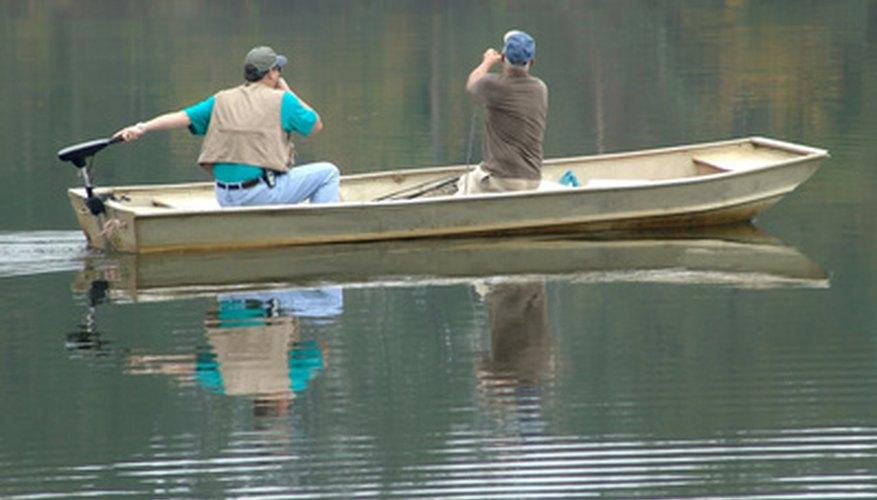 Camping and Fishing in Lake Sullivan, Indiana