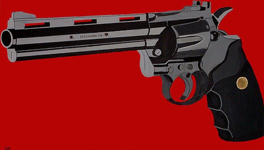 Un revolver de doble acción