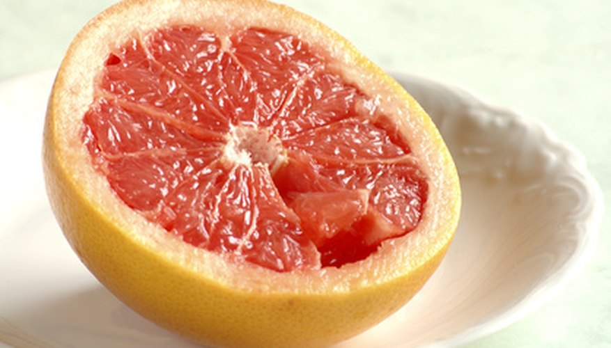 Grapefruits are popular breakfast fruits in the United States.