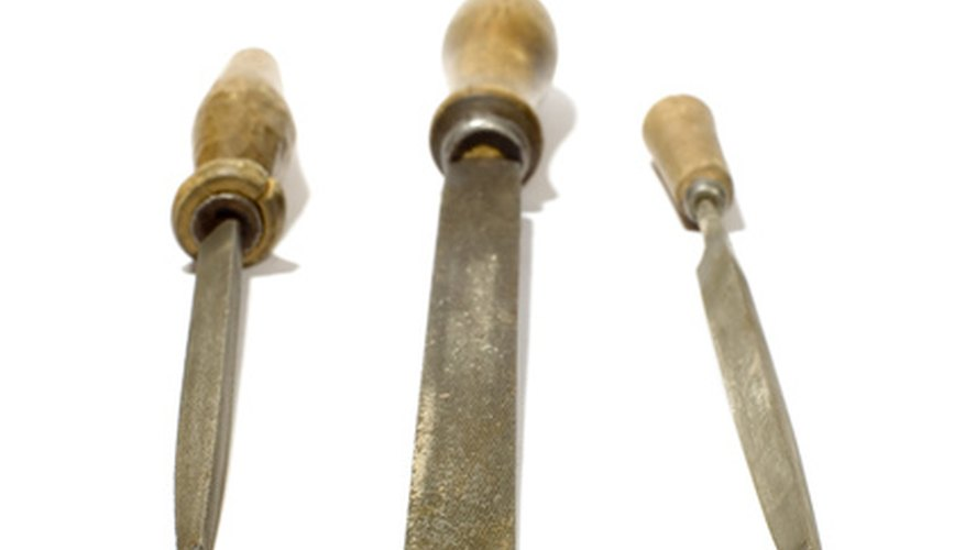 Files for sharpening pruning tools come in a wade variety of styles.