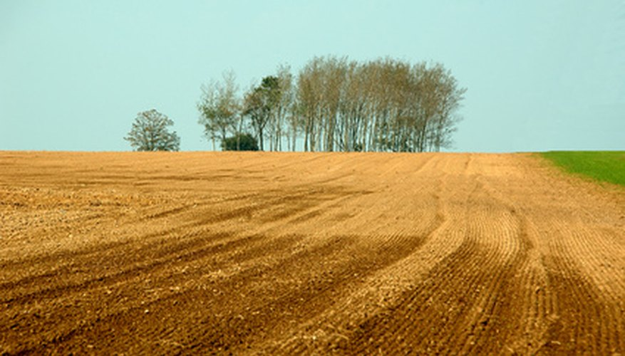 Soil is formed by weather and other factors over a long period of time.