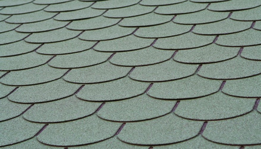 Decorative shingle pattern.