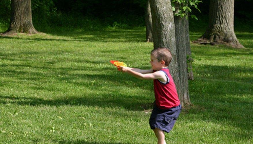 Conoce los distintos tipos de pistolas NERF.