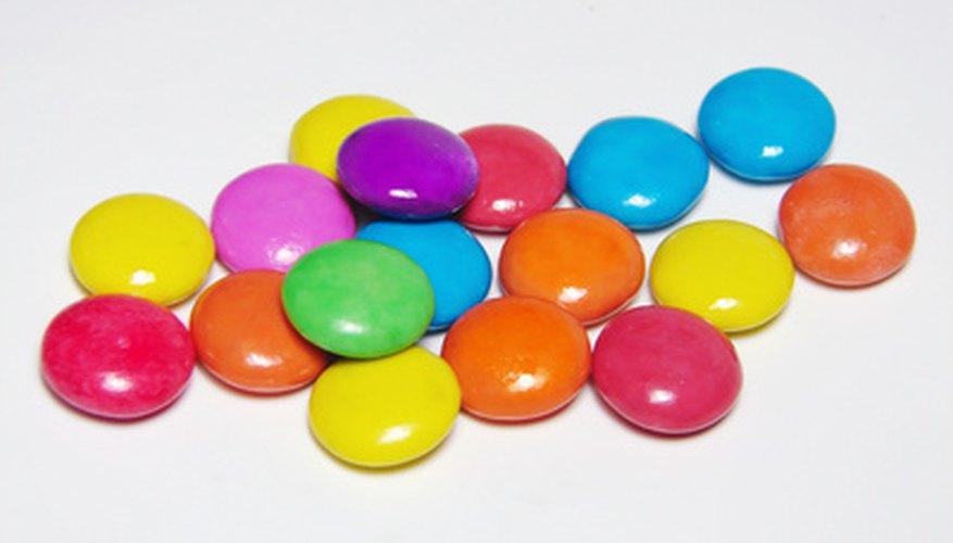 Los dulces M&M.