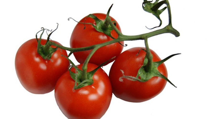Roma tomatoes are popular plum tomatoes.