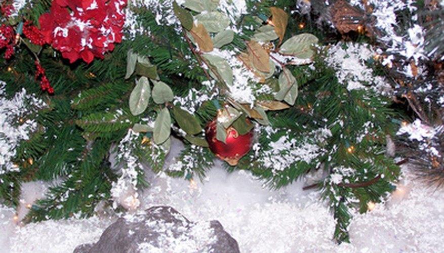 Make fake snow for kids winter sensory play activity ideas