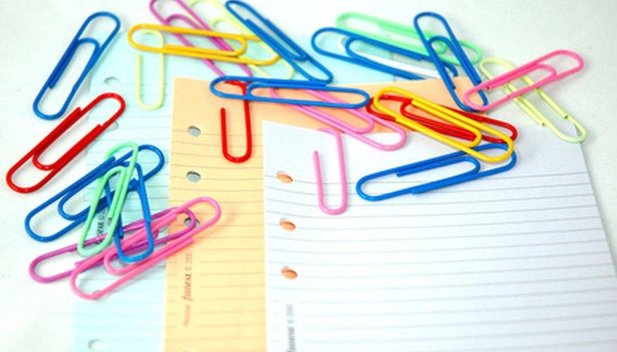 Procura tener un pedazo de papel cerca de tu proyecto.