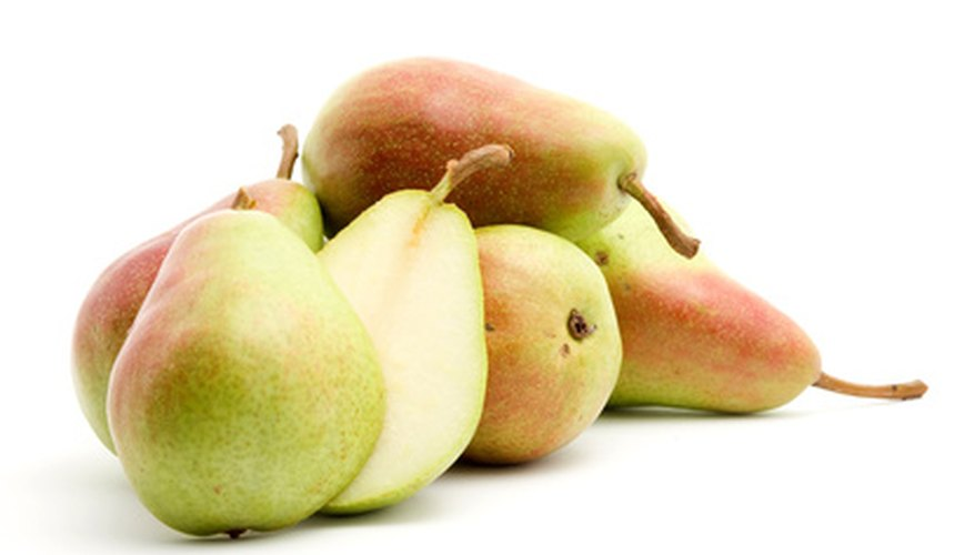 Attractive and sweet, Bartlett pears are popular with consumers.