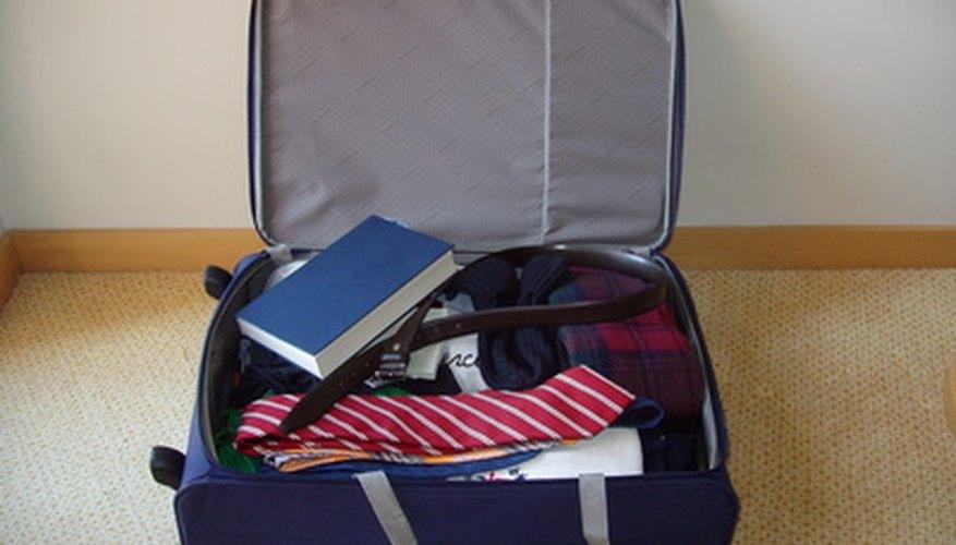El equipaje de mano debe cumplir con las reglas de TSA.