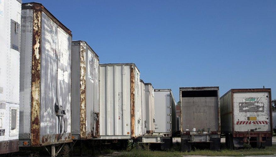 Algunos estados permiten trailers muy largos.