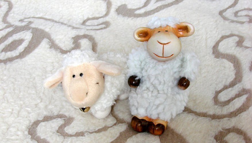 Serta's sheep toys can be hard to find...but they're out there.