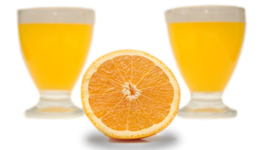 Orange varieties that are not visually appealing are often used in juice production.