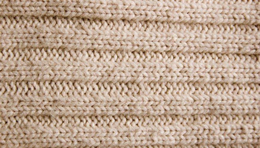 Tiñe tu tela de lana con un color diferente.