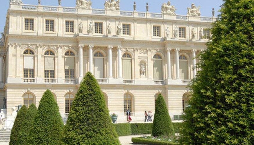 El castillo de Versalles.