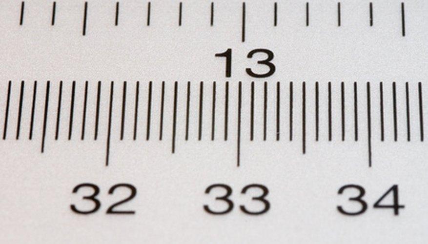 Hay 25,4 milímetros en una pulgada.