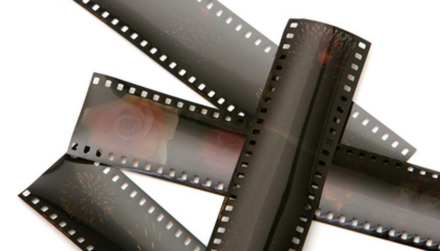 Un negativo de fotografía revelado puede ser utilizado para convertir una cámara normal en una cámara de visión nocturna.