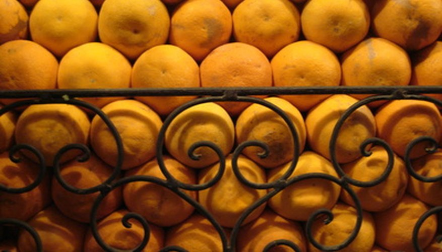 Several types of oranges grow successfully in the Bay Area.